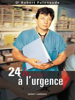 cover image of 24 heures à l'urgence