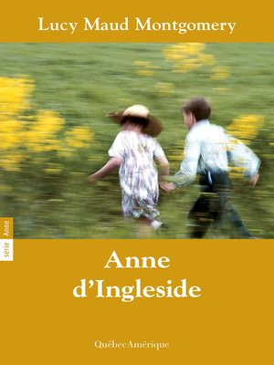 cover image of Anne 06--Anne d'Ingleside