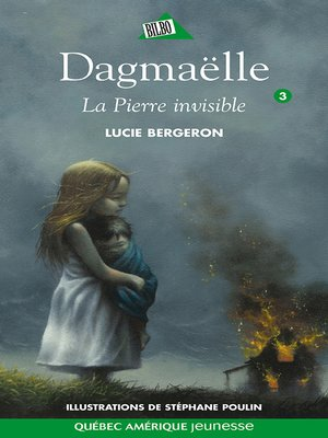 cover image of Dagmaëlle 03--La Pierre invisible
