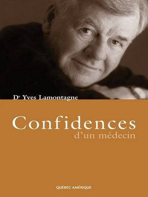 cover image of Confidences d'un médecin