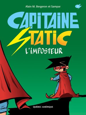 cover image of Capitaine Static 2--L'imposteur