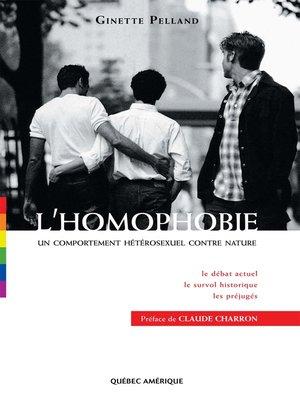 cover image of L'Homophobie