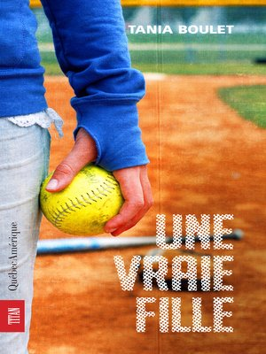 cover image of Une vraie fille