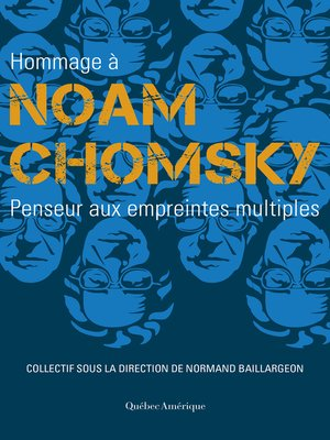 cover image of Hommage à Noam Chomsky