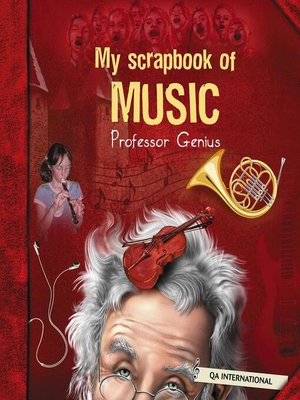 cover image of My Scrapbook of Music (by Professor Genius)