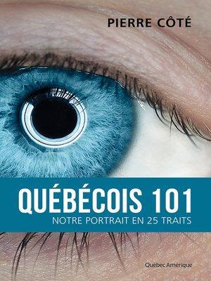 cover image of Québécois 101