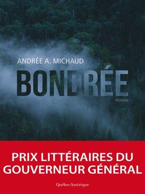 cover image of Bondrée