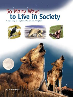 cover image of So Many Ways to Live in Society
