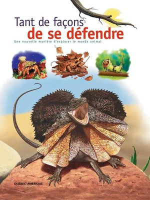 cover image of Tant de façons de se défendre