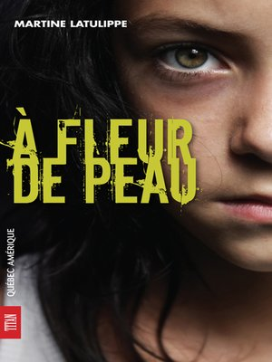 cover image of À fleur de peau