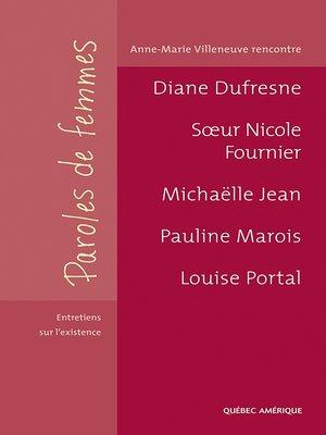 cover image of Paroles de femmes