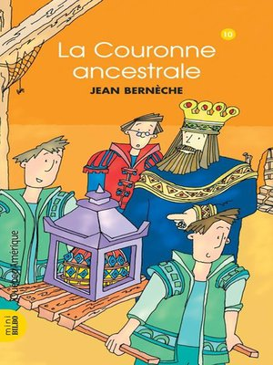 cover image of Mathieu 10--La Couronne ancestrale