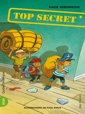 cover image of Les Trois Jojo 01--Top Secret