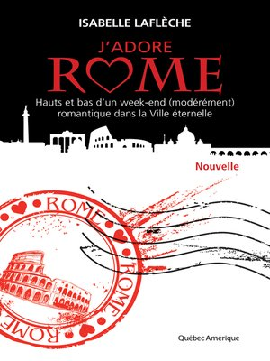 cover image of J'adore Rome