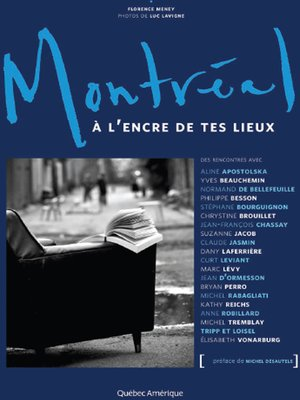 cover image of Montréal à l'encre de tes lieux