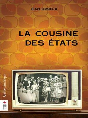 cover image of La Cousine des États