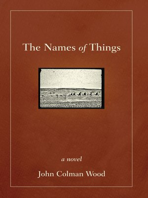cover image of The Names of Things