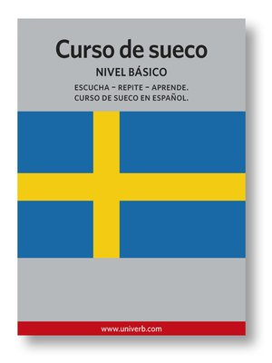 cover image of Curso de sueco