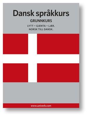 cover image of Dansk språkkurs