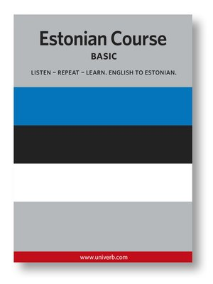 cover image of Estonian Course