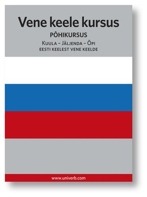 cover image of Vene keele kursus