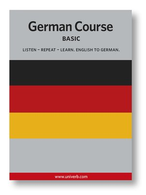 cover image of German Course