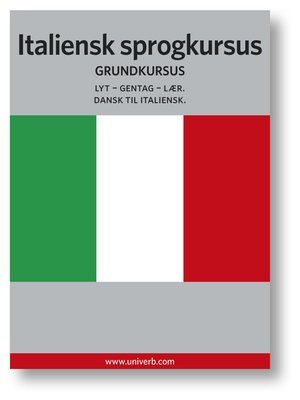 cover image of Italiensk sprogkursus