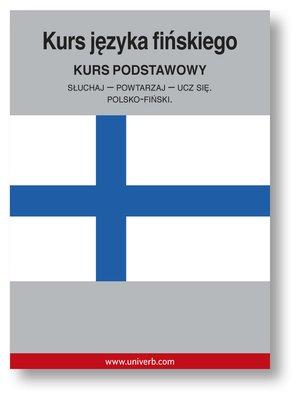 cover image of Kurs języka fińskiego