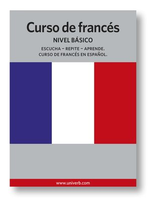 cover image of Curso de francés