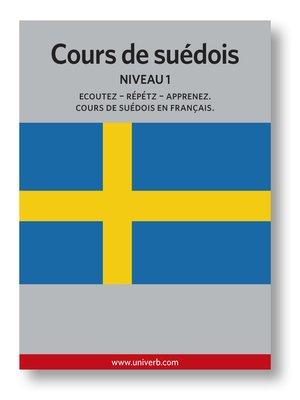 cover image of Cours de suèdois