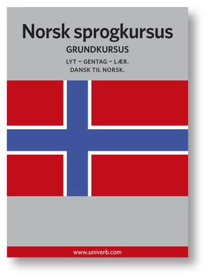 cover image of Norsk sprogkursus