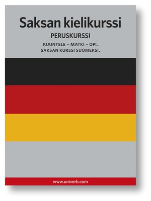 cover image of Saksan kielikurssi