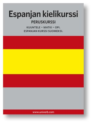 cover image of Espanjan kielikurssi