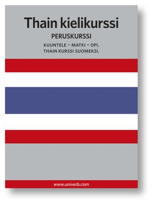 cover image of Thain kielikurssi
