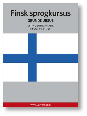 cover image of Finsk sprogkursus