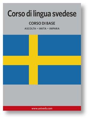 cover image of Corso di lingua svedese