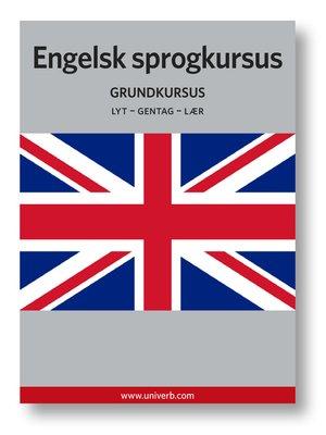 cover image of Engelsk sprogkursus