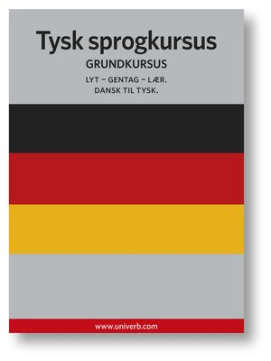cover image of Tysk sprogkursus