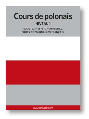 cover image of Cours de polonais