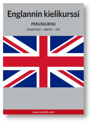cover image of Englannin kurssi