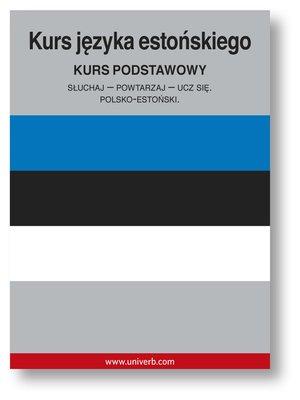 cover image of Kurs języka estońskiego
