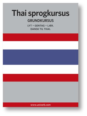 cover image of Thai sprogkursus