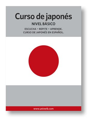 cover image of Curso de japonés