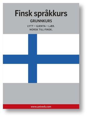 cover image of Finsk språkkurs