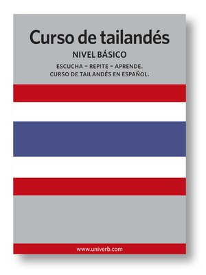 cover image of Curso de tailandés