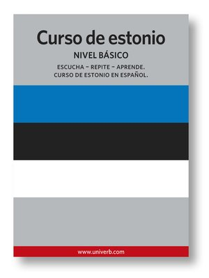 cover image of Curso de estonio