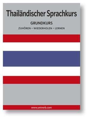 cover image of Thailändischer Sprachkurs