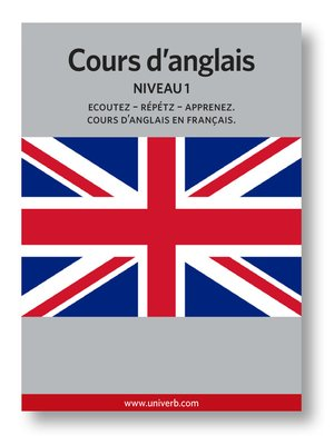 cover image of Cours d'anglais