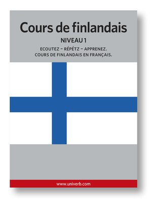 cover image of Cours de finlandais