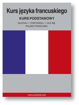 cover image of Kurs języka francuskiego